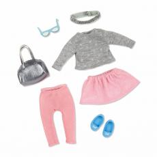 Комплект одежды для куклы с легинсами, фото