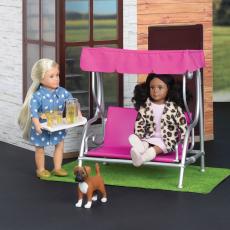 """Набор игровой """"Патио в саду"""" с мебелью и аксессуарами, фото"""