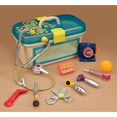 Набор игровой медицинский с голубой крышкой, фото