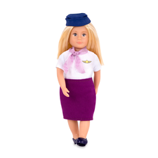 Кукла 15 см Аури, стюардесса, фото