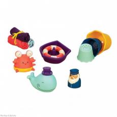 Набор игрушек для ванной, фото