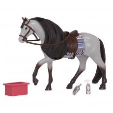 """Лошадь породы """"Роанская голубая"""" с аксессуарами, фото"""