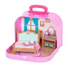 """Набор игровой """"Спальня"""" в чемоданчике, фото"""