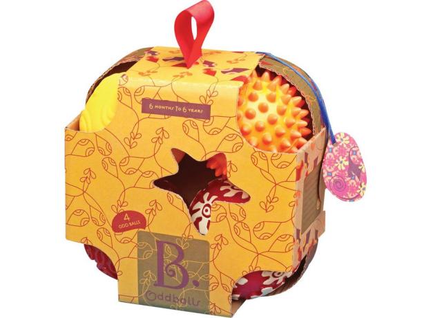 Набор мячиков для моторики B.Toys (Battat), фото , изображение 2