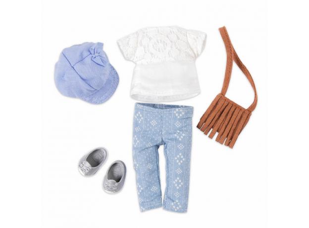 Комплект одежды для куклы Lori с сумочкой, фото , изображение 2