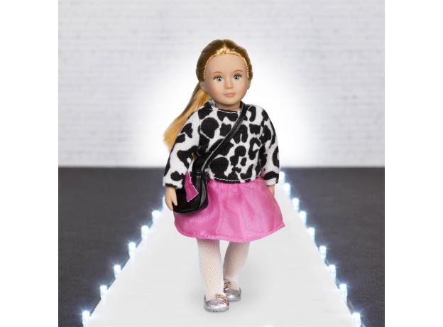 Комплект одежды для куклы Lori с кардиганом и юбочкой, фото