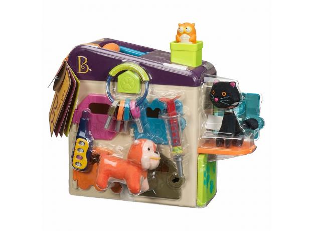 Ветеринарный набор B.Toys (Battat) фиолетовая крышка, фото , изображение 2