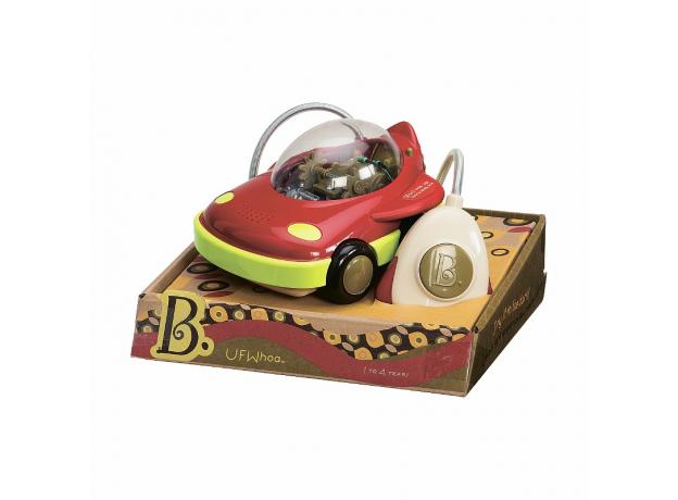 Машинка на пульте управления B.Toys (Battat) красная, фото , изображение 2