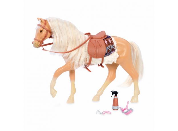 Лошадь породы «Американский Квотерхорс» Lori с аксессуарами, фото
