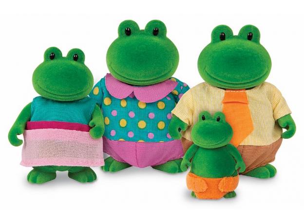 Игровой набор Li'l Woodzeez «Семья лягушек», фото