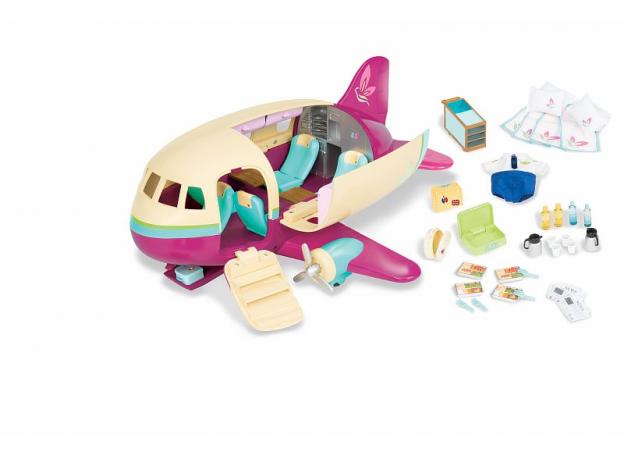 Игровой набор Li'l Woodzeez «Самолет» с аксессуарами, фото , изображение 5