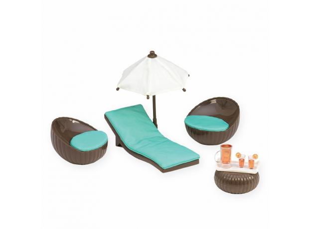 Игровой набор Lori «Патио на крыше» с мебелью и аксессуарами, фото , изображение 3