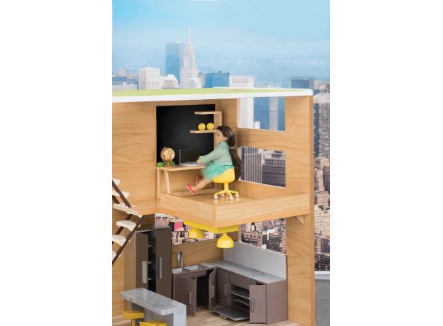 Игровой набор Lori «Рабочий уголок дома» с мебелью и аксессуарами, фото , изображение 2