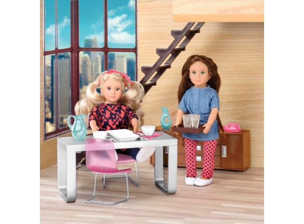 Игровой набор Lori «Стильная столовая» с мебелью и аксессуарами, фото