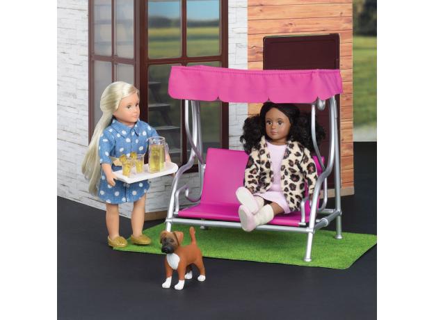 Игровой набор Lori «Патио в саду» с мебелью и аксессуарами, фото