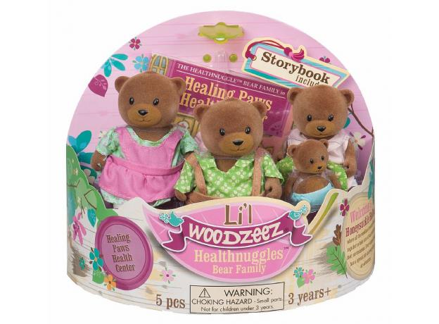 Игровой набор Li'l Woodzeez «Семья медвежат», фото , изображение 2