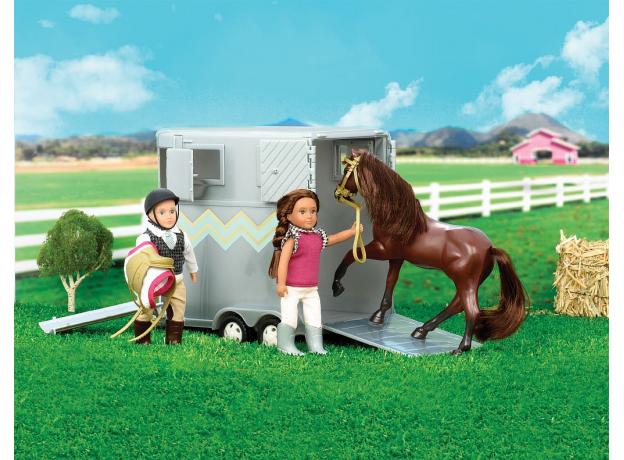 Прицеп для перевозки лошадей Lori с аксессуарами, фото