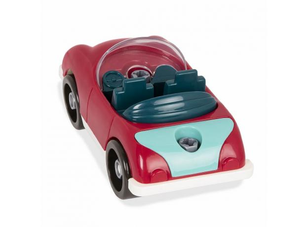 Игрушка-конструктор B.Toys (Battat) «Кабриолет»: 22 элемента, фото , изображение 2