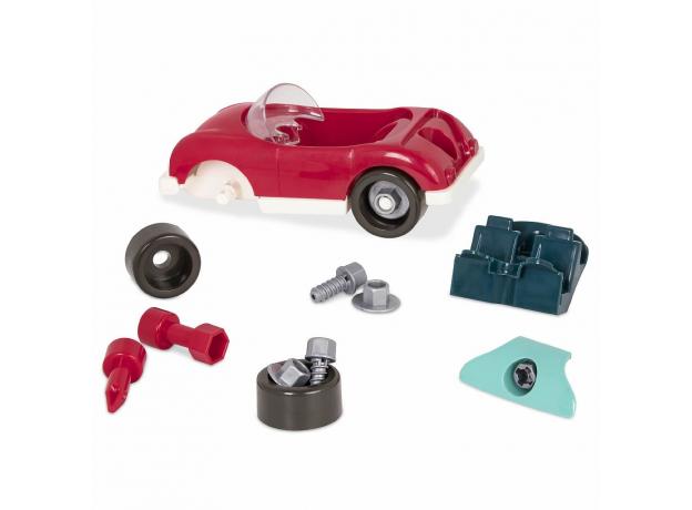 Игрушка-конструктор B.Toys (Battat) «Кабриолет»: 22 элемента, фото , изображение 5