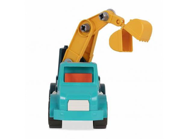 Игрушка-конструктор B.Toys (Battat) «Кран»: 34 элемента, фото , изображение 4