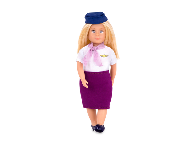 Кукла Lori 15 см Аури, стюардесса, фото