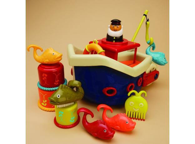 Набор для ванны B.Toys (Battat) «Fish & Squish», фото , изображение 2
