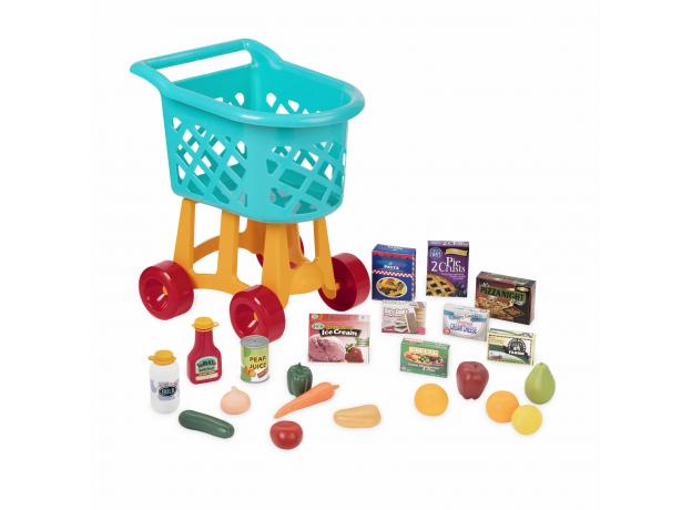 Игровой набор Battat «Тележка с продуктами», фото