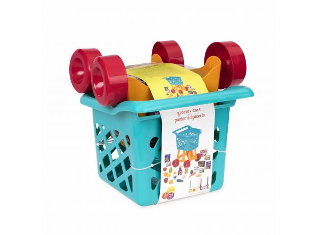 Игровой набор Battat «Тележка с продуктами», фото , изображение 2