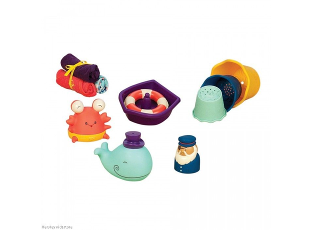 Набор игрушек для ванной B.Toys (Battat), фото