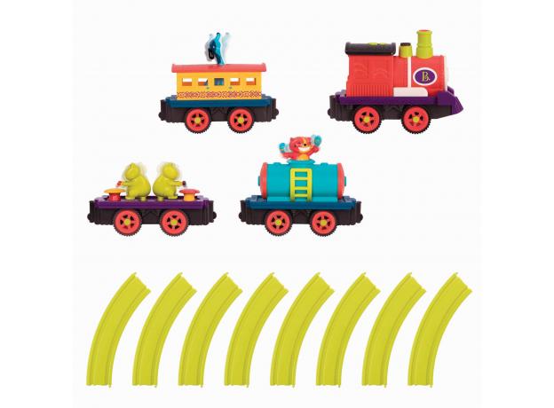Игровой набор Battat «Поезд с музыкантами», фото , изображение 3