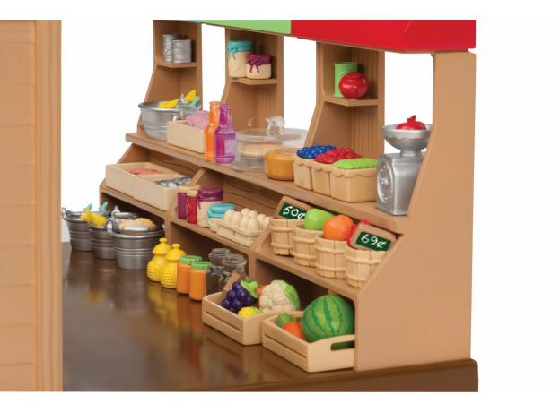 Игровой набор с аксессуарами Li'l Woodzeez «Фермерский рынок», фото , изображение 2