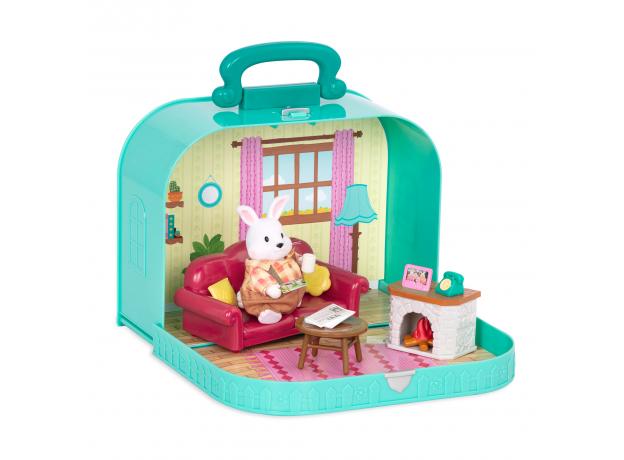 Игровой набор в чемоданчике Li'l Woodzeez «Гостинная», фото , изображение 3
