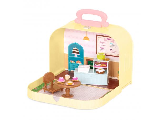 Игровой набор в чемоданчике Li'l Woodzeez «Кондитерская», фото , изображение 2