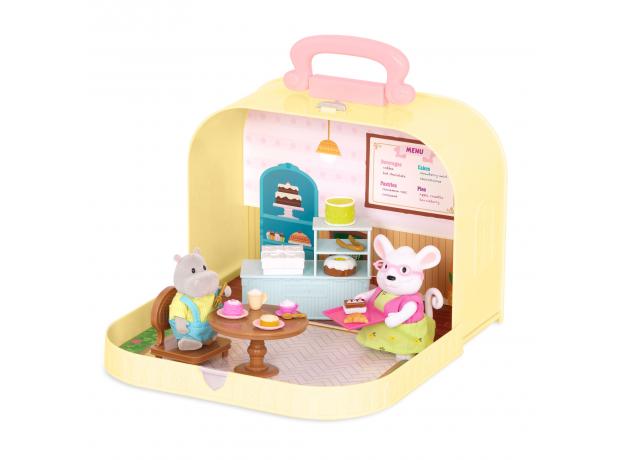 Игровой набор в чемоданчике Li'l Woodzeez «Кондитерская», фото , изображение 3