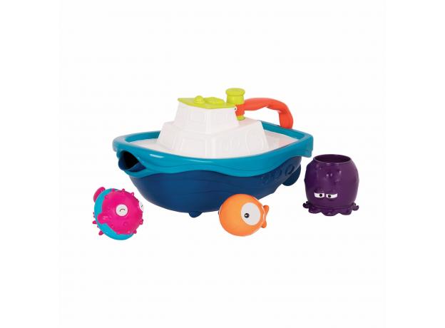 Набор игрушек для ванны Battat «Морское приключение», фото , изображение 2