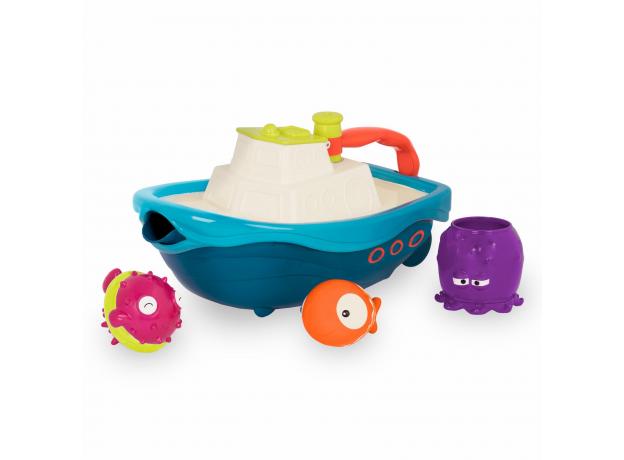 Набор игрушек для ванны Battat «Морское приключение», фото , изображение 5
