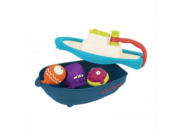 Набор игрушек для ванны Battat «Морское приключение», фото , изображение 6