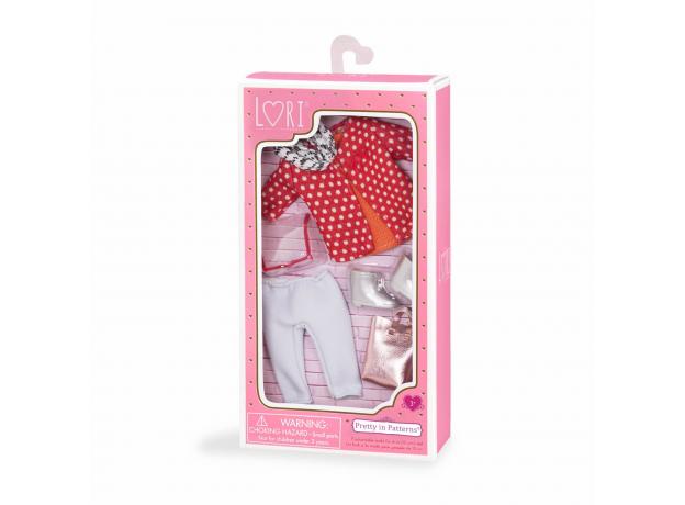 Комплект одежды для куклы Lori с плащом, фото , изображение 3