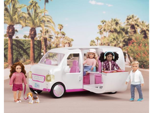 """Набор игровой """"Автобус"""" с аксессуарами, фото , изображение 3"""