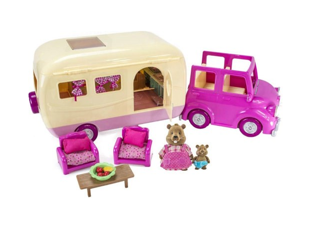 Игровой набор Li'l Woodzeez «Дом на колёсах» с аксессуарами, фото