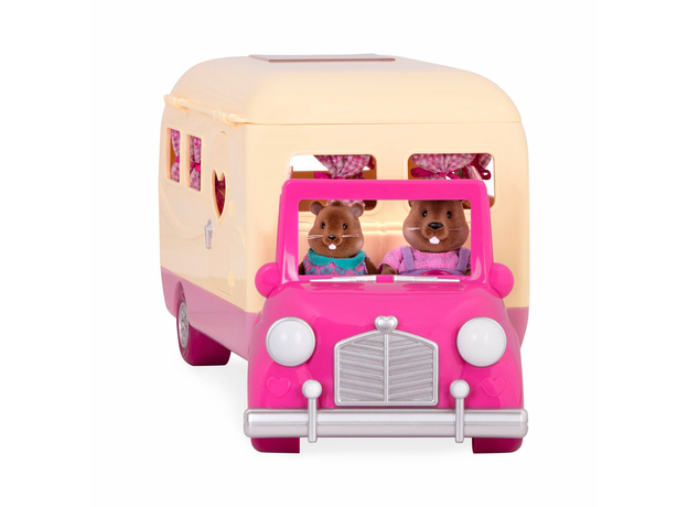 Игровой набор Li'l Woodzeez «Дом на колёсах» с аксессуарами, фото , изображение 2