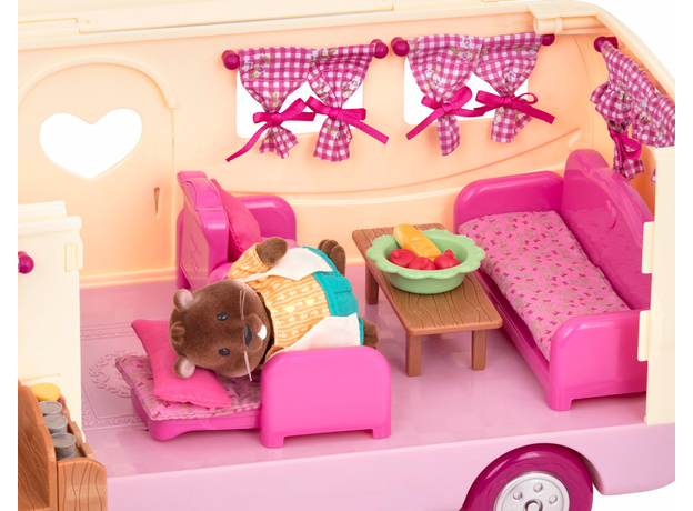 Игровой набор Li'l Woodzeez «Дом на колёсах» с аксессуарами, фото , изображение 5