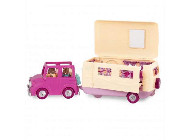 Игровой набор Li'l Woodzeez «Дом на колёсах» с аксессуарами, фото , изображение 7