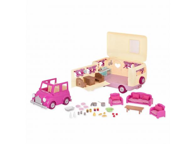 Игровой набор Li'l Woodzeez «Дом на колёсах» с аксессуарами, фото , изображение 8