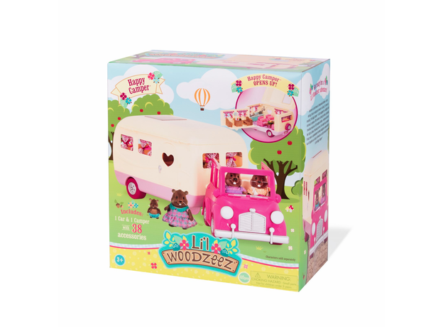 Игровой набор Li'l Woodzeez «Дом на колёсах» с аксессуарами, фото , изображение 9