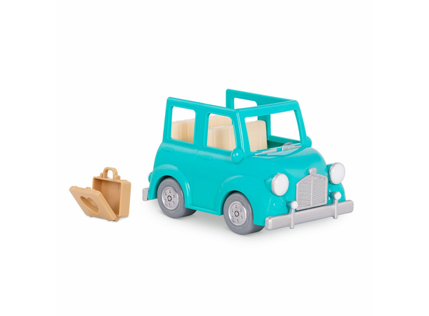 Машина с чемоданом Li'l Woodzeez; голубой, фото