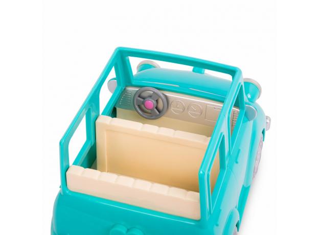 Машина с чемоданом Li'l Woodzeez; голубой, фото , изображение 2