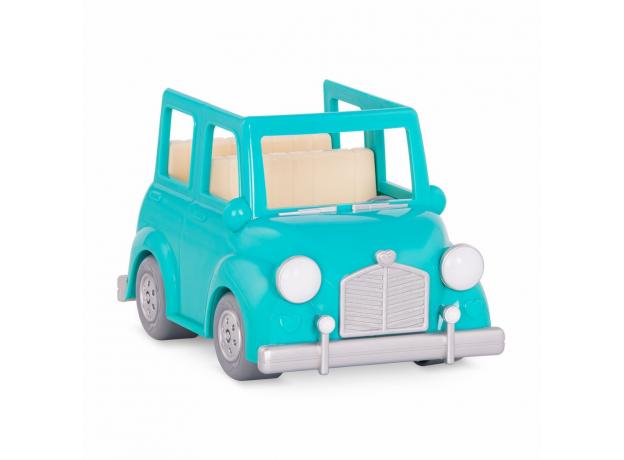 Машина с чемоданом Li'l Woodzeez; голубой, фото , изображение 4