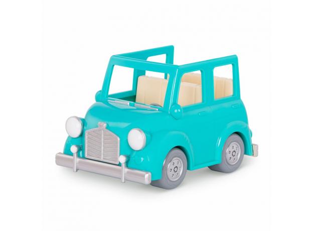 Машина с чемоданом Li'l Woodzeez; голубой, фото , изображение 5