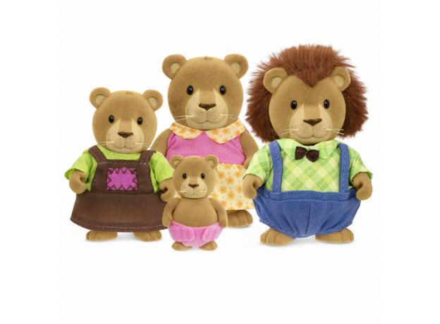 Игровой набор Li'l Woodzeez «Семья львов», фото
